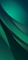緑 皺のような綺麗なテクスチャー Redmi 9T Android スマホ壁紙・待ち受け