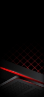 black red texture hex Redmi 9T Android スマホ壁紙・待ち受け